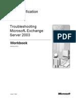 Troubleshooting Microsoft Exchange Server 2003