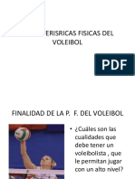 Caracterisricas Fisicas Del Voleibol