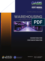 Warehousing - Store Level