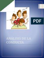 Analisis de La Conducta Trabajo Final Terminado