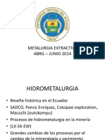Campo de accion de la hidrometalurgia.pptx