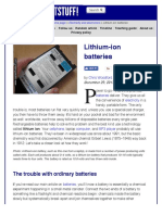 How Do Lithium-ion Batteries Work? - Explain That Stuff