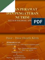 Pengaturan Nutrisi Dan Peran Perawat