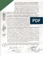 Acuerdo Macri - Félix Díaz & otros