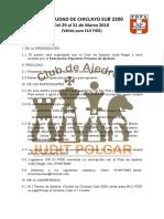 I IRT Ciudad de Chiclayo Sub-2200
