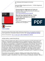 Callon - 2015 - Revisiting Marketization