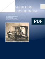 The Weaving Industry of india