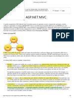 Visão Geral Do ASP.net MVC