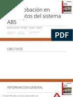 Comprobación en Elementos Del Sistema ABS (1)