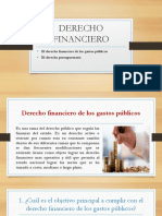 Derecho Financiero y Presupuestario