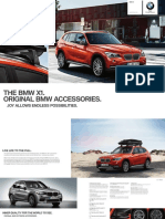 Bmw Accessories Catalogue x1 2012