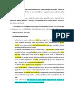 La Fenomenología Del Cuerpo