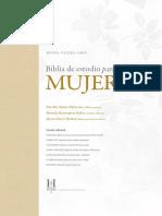 Ester Muestra Biblia de Estudio Para Mujeres 1