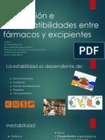 Desarrollo Farma Equipo 2 Incompatibilidades
