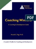 35049409 Coaching Winners a Coaching Development Guide