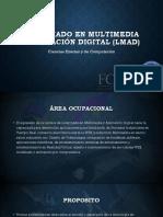 Lincenciatura en Multimedia y Animación Digital