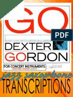 Dexter Gordon GO! - eBook (Concert)