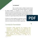Correlación de Pennebaker Exposicion