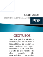 Geotubos Presentacion Geologia 2015 1
