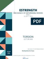 Lecture 6 - Torsion