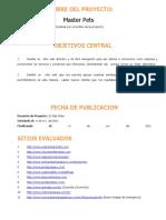 Proyecto Veterinaria Master Pets.doc
