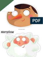 Storytime Pinocchio Masks