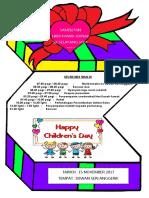 Buku Program Hari Kanak-kanak