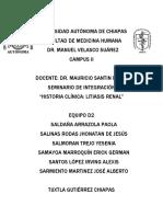 Seminario Litiasis Renal