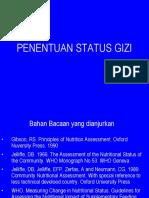4. Penentuan Status-gizi