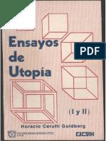 Cerutti Horacio-Ensayos de Utopía I y II-UAEM