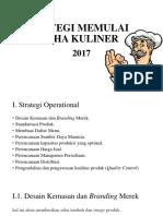 Strategi Memulai Usaha Kuliner