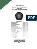 Laporan Layanan Kefarmasian Klinis PJK Kelompok 4