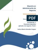 Entorno Economico de Mexico unid Actividad 5
