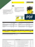 Aspiratore solidi-liquidi Karcher NT 35_1 eco bs