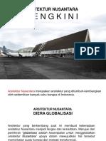 Arsitektur Nusantara Yang Mengkini (Revisi)