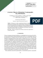 Practical Aspects of Quantum Cryptographic