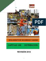 Reglamento de Seguridad e Higiene - Capitulo 100 Distribución 2018