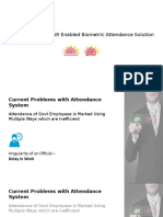 Aadhaar Enabled Biometric Attendance Solution