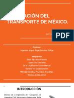 Legislacion Del Transporte de Mexico