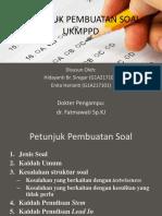 Petunjuk Pembuatan Soal Ukmppd