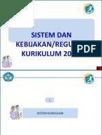 3. REGULASI K13
