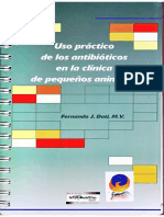Uso Practico de Los Antibioticos en La Clinica de Pequeños Animales
