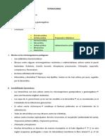 Tetraciclinas Cloranfenicol y Vancomicina
