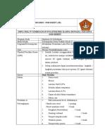 Job Sheet Perawatan Luka Post Operasi SC