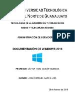 Documentación de un servidor