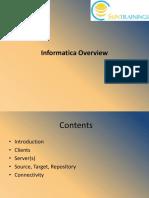 Informatica Overview