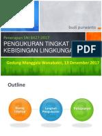 SNI Pengukuran Tingkat Kebisingan Lingkungan - Budi P3KLL
