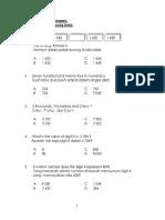 Soalan Matematik Dwibahasa 2 Feb 2018