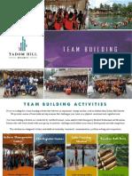 Tadom Hill Resorts  brochure