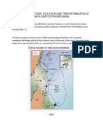 Tectonic Evolution of Mafia Deep Offshore Basin and Its Traps Formation